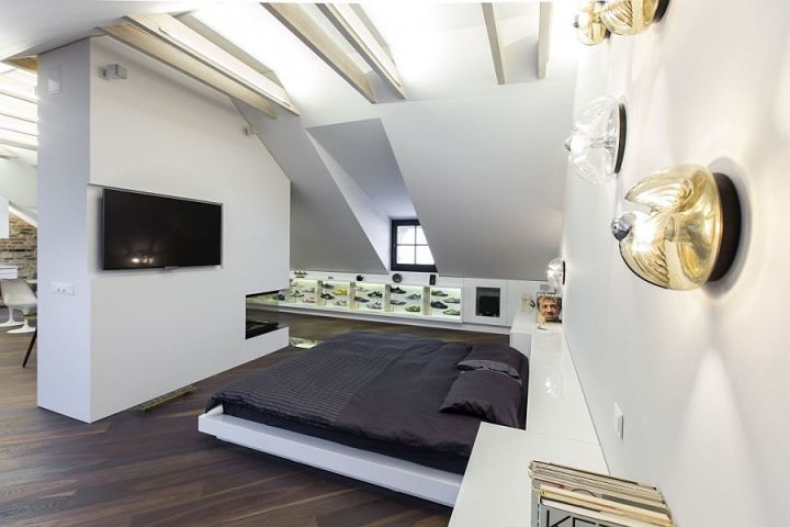 Design interior pentru un apartament mic modern