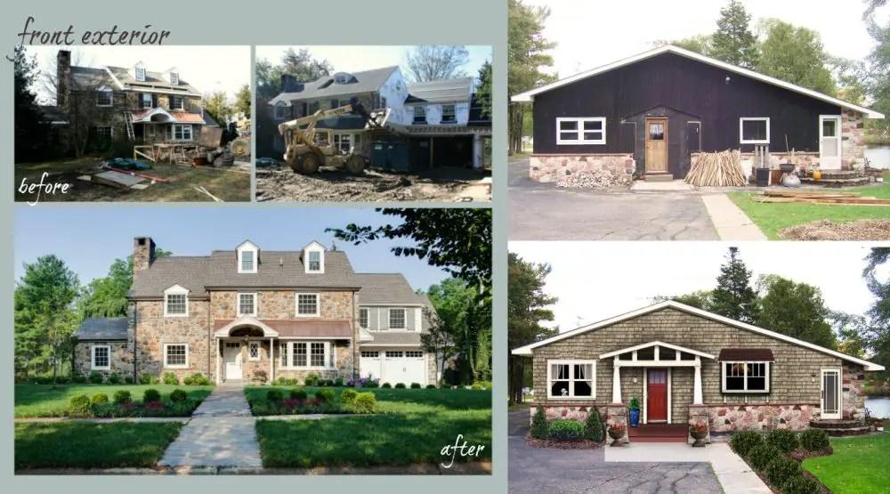 Modele de case batranesti renovate frumos