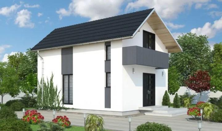 Proiecte de case din barne de lemn usor