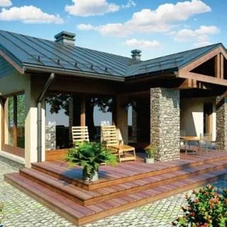 proiecte de case cu 2 doua dormitoare