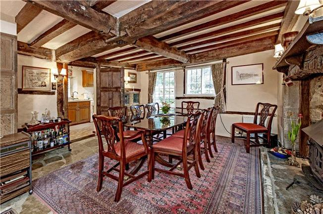 Casa cu stuf din Anglia