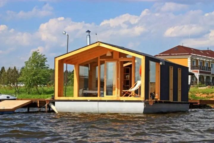casa modulara plutitoare The floating modular home 5