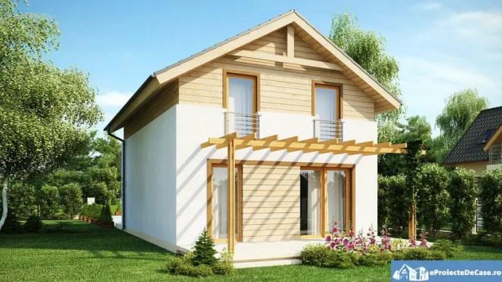 case cu etaj din lemn Houses with wood clad first floor 4