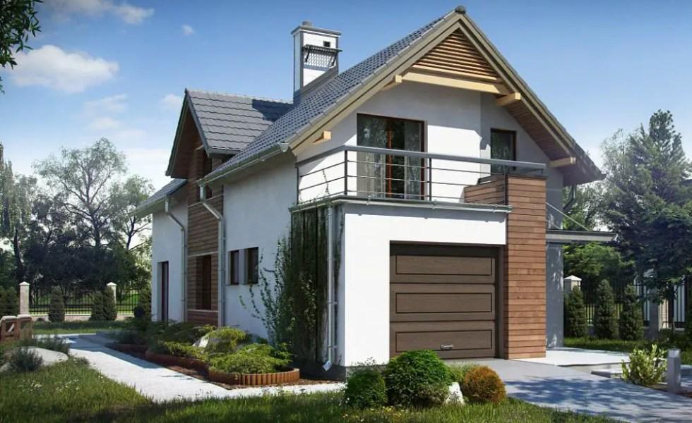 Case cu terasa la etaj elegante