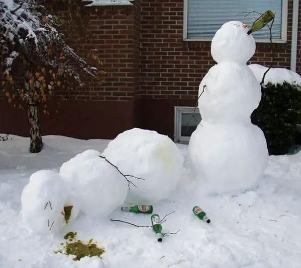 cei mai frumosi oameni de zapada Most creative snowmen 13
