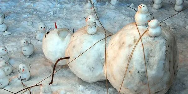 cei mai frumosi oameni de zapada Most creative snowmen 8