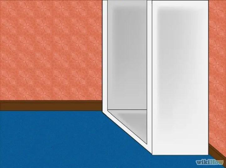 construirea unui dulap din pal How to build an MDF closet 4