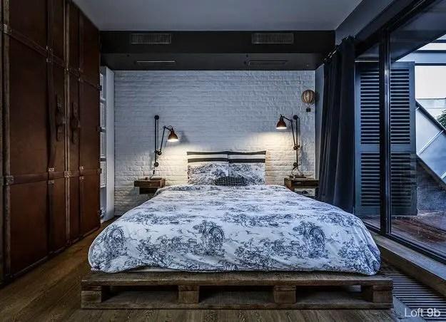 dormitoare imbracate in lemn wooden bedroom designs 6
