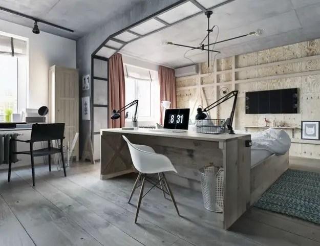 dormitoare imbracate in lemn wooden bedroom designs 8