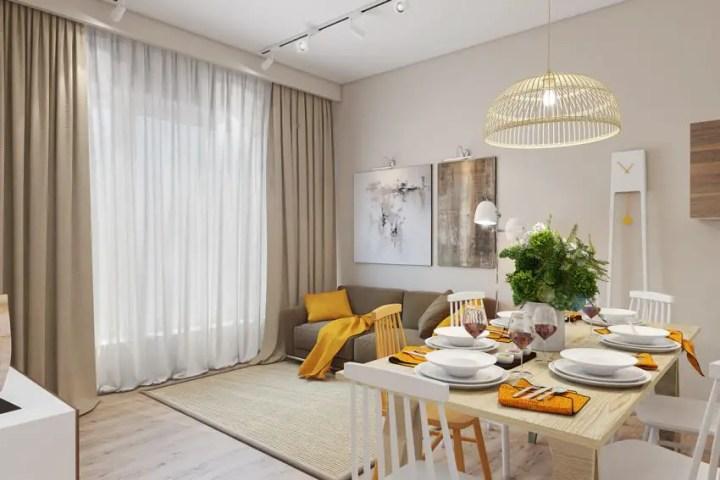 galbenul in design interior yellow accents in interior design 2