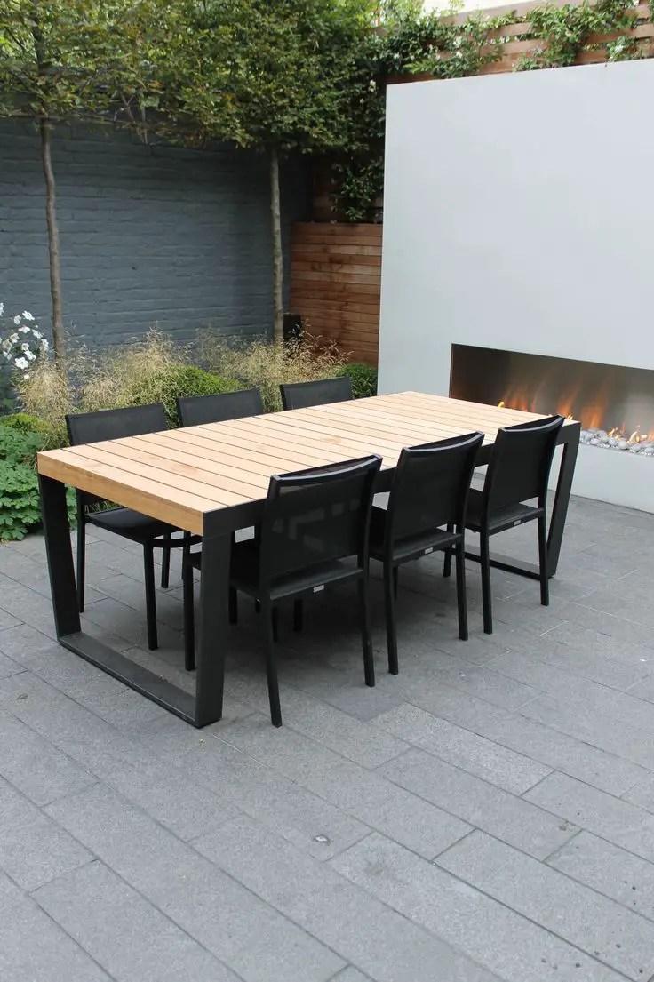 Outdoor Wooden Tables  15 Beautiful Designs  Houz Buzz