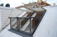Attic Balcony Design Ideas