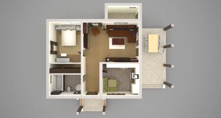 proiecte de casa cu mansarda pe 70 de mp 70 square meter loft house plans 3