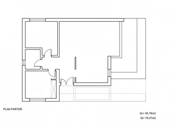 proiecte de case mici cu doua dormitoare Two bedroom small house plans 8