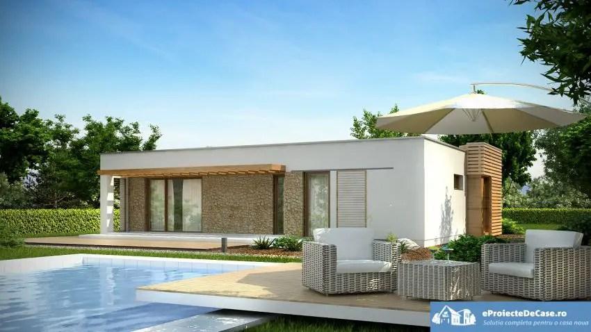 Proiecte de case moderne pe un singur nivel spatii for Casa moderna 2016 udine