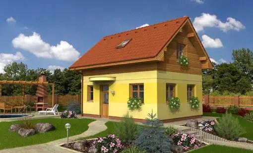 Proiecte de case pe teren cu deschidere mica la drum
