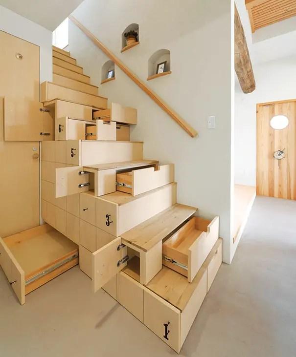amenajarea unei case mici Small homes space saving tips 16
