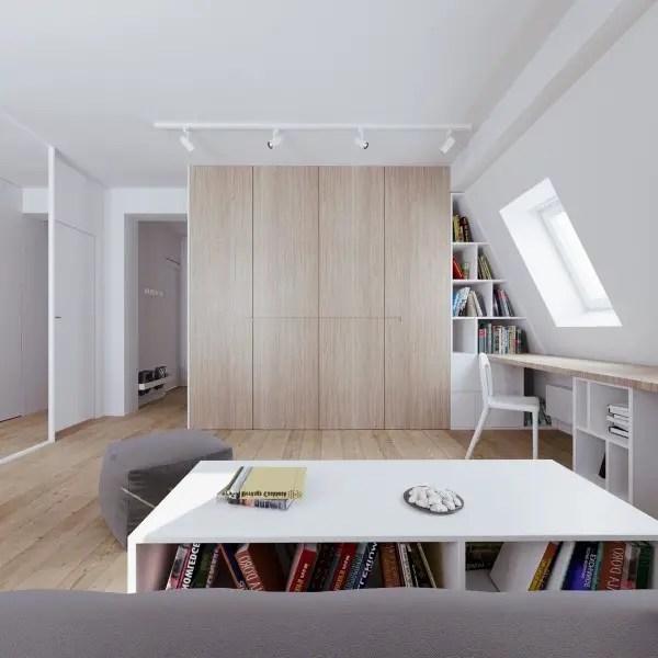 amenajarea unui apartament la mansarda Setting up an attic apartment 2
