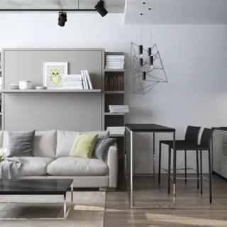 Amenajarea unui apartament sub 30 de metri patrati elegant
