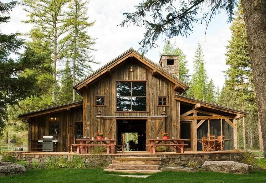 Case din lemn refolosit bine