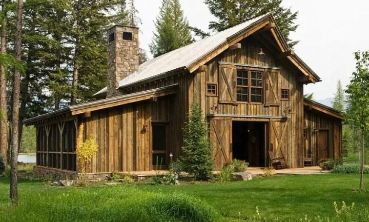 case din lemn refolosit Salvaged wood houses 2