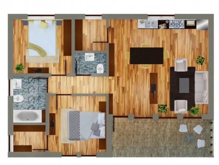 case ieftine pentru familii cu 2-3 membri Affordable homes for families of 2-3 10