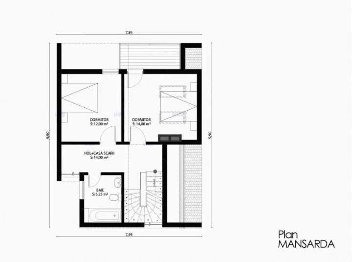 case ieftine pentru familii cu 2-3 membri Affordable homes for families of 2-3 5