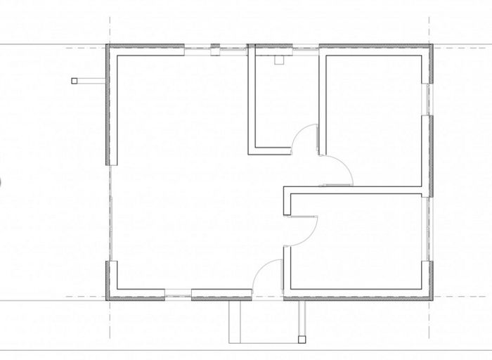 case mici cu un dormitor One bedroom house plans 12