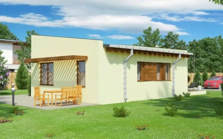 case mici cu un dormitor One bedroom house plans 9