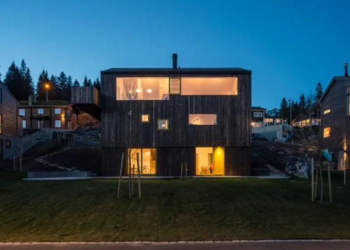 case norvegiene din lemn norwegian wood houses 10