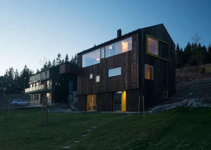 case norvegiene din lemn norwegian wood houses 8