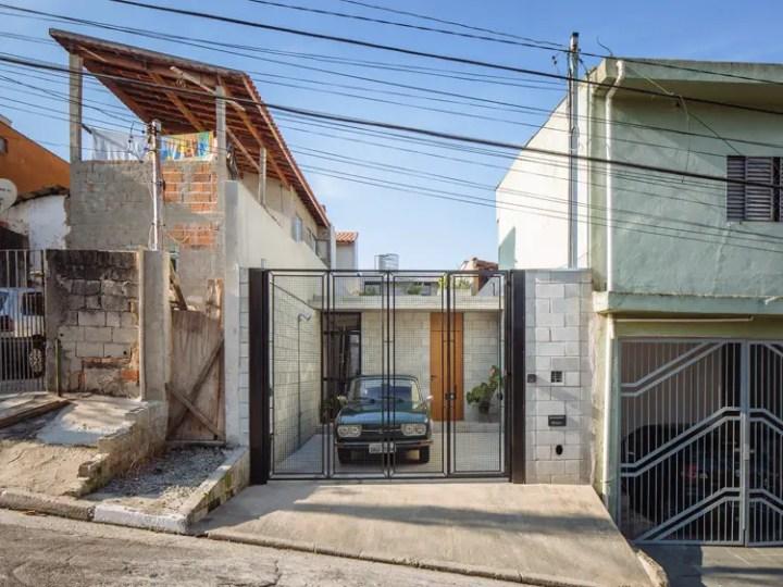 Casuta din favela braziliana