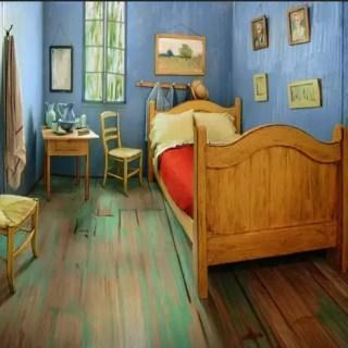 Dormitorul lui van Gogh din Chicago