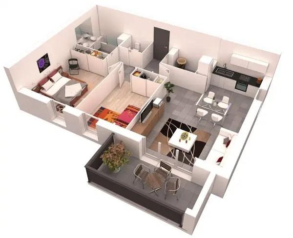 idei pentru amenajarea unui apartament cu 3 camere 3 room apartment layout ideas 7