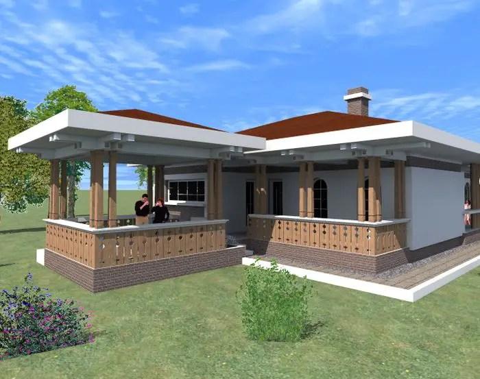 Proiecte de case cu arcade afara