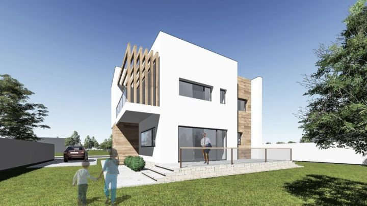 proiecte de case mici cu un etaj Two story small house plans 10