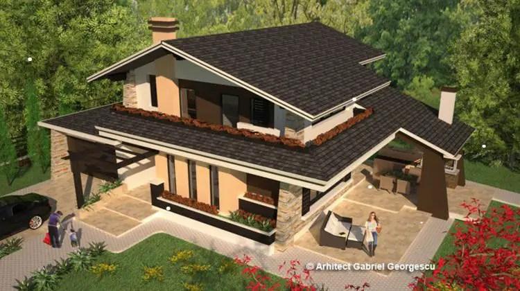 proiecte de case spatioase Spacious house plans 9
