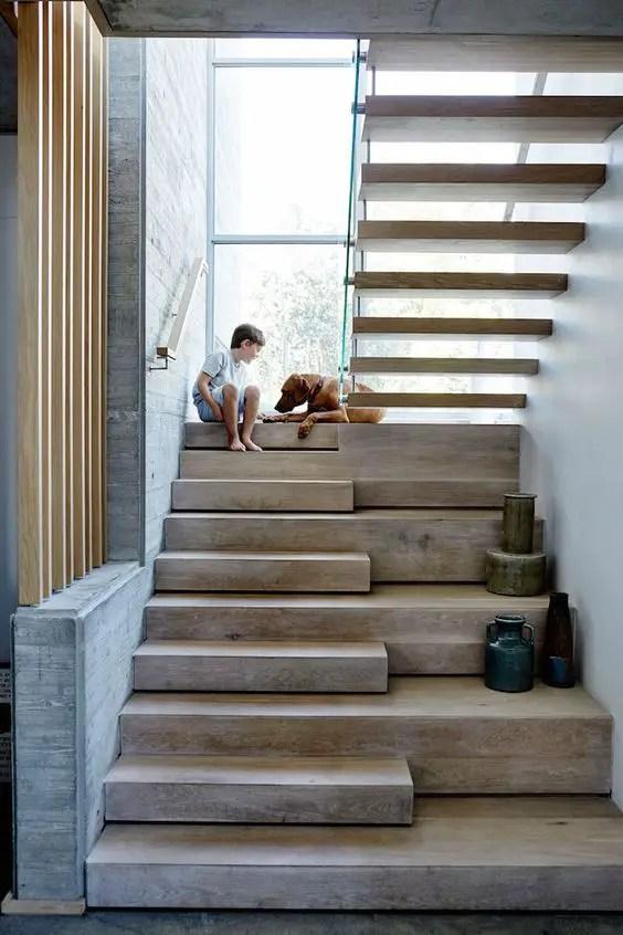Scari interioare pentru case frumoase