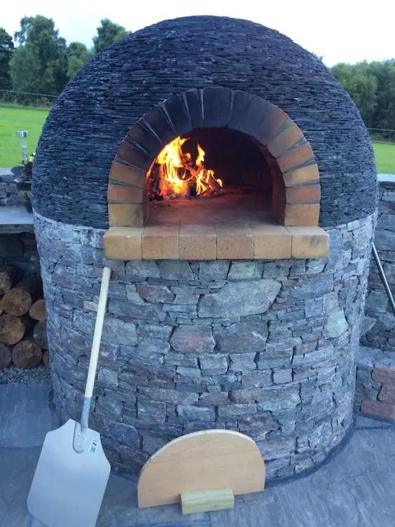 Cuptoare de gradina din piatra outdoor stone ovens 11