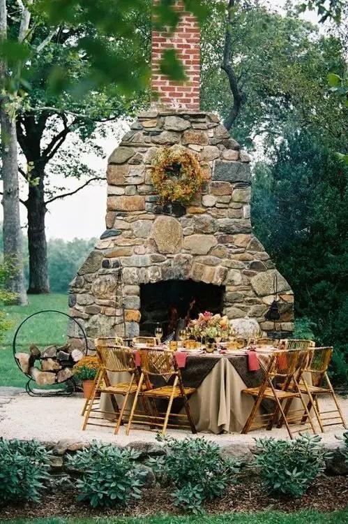 Cuptoare de gradina din piatra outdoor stone ovens 13