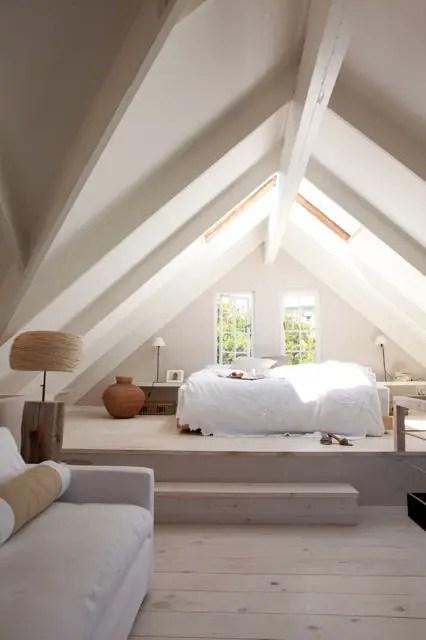 amenajarea unei mansarde mici small attic room design ideas 2