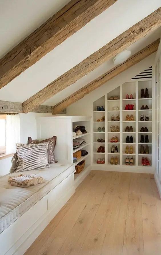 amenajarea unei mansarde mici small attic room design ideas 3