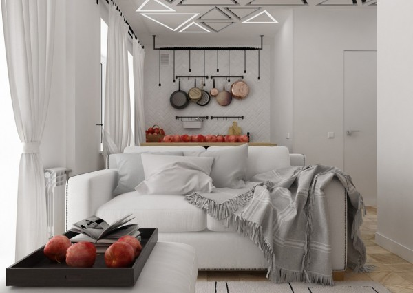apartamente sub 30 de metri patrati small apartments under 40 square meters 13