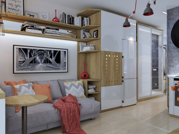 apartamente sub 30 de metri patrati small apartments under 40 square meters 9