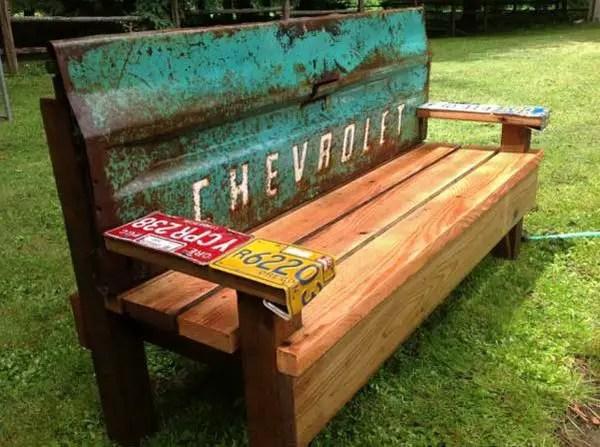 banci din lemn pentru gradina Garden wood benches ideas 10