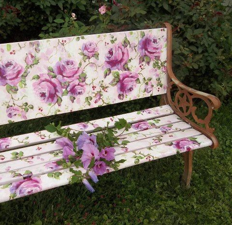 banci din lemn pentru gradina Garden wood benches ideas 6