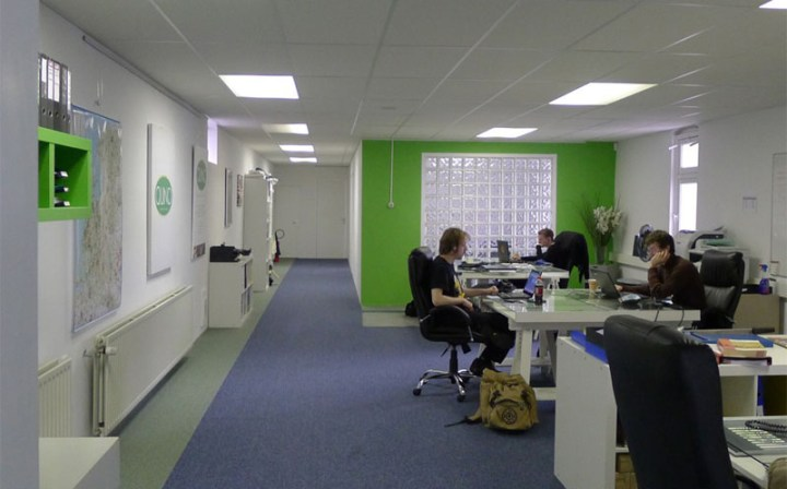 Un birou transformat in locuinta - o schimbare radicala