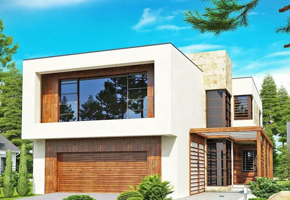 3 proiecte de case cu etaj moderne deschise spre exterior for Case design moderne