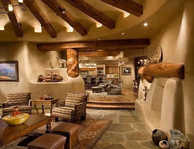 Santa Fe Living Room Ideas
