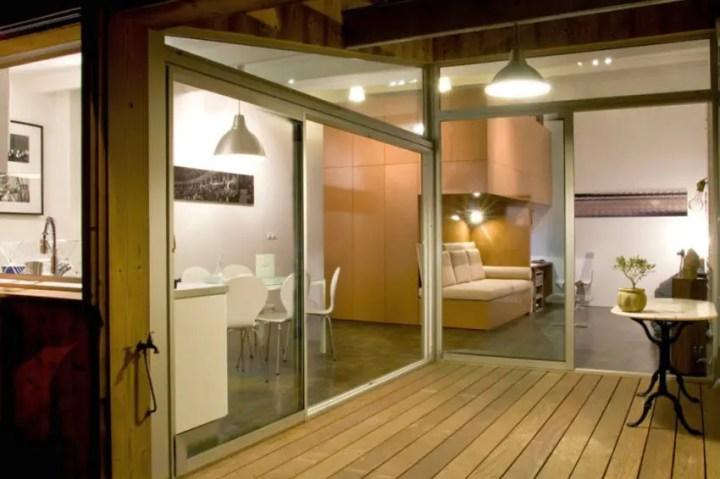 case facute din garaje Garages converted into homes 3